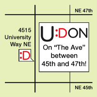Find Udon Noodles in Seattle's University District